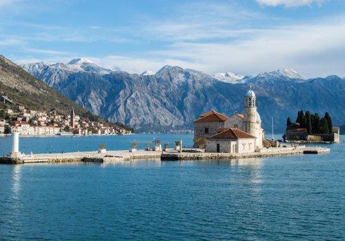 The beautiful Kotor bay